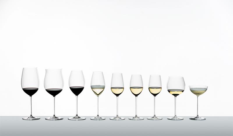 La gama de copas para vino del fabricante RIEDEL