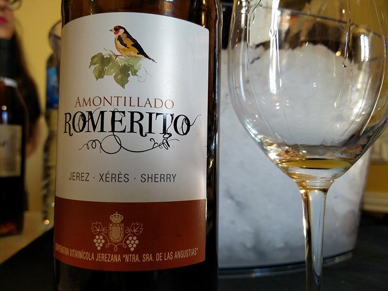 Amontillado Romerito Cooperativa vinícola Jerezana 'Ntra. Sra. De las Angustias'